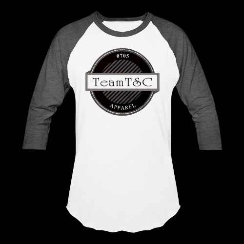 TeamTSC Badge - Unisex Baseball T-Shirt