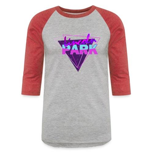Retro Wildcat - Unisex Baseball T-Shirt