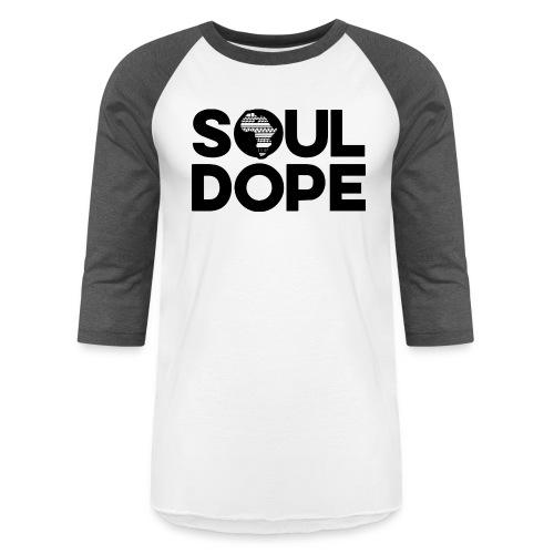 souldope Black Logo - Baseball T-Shirt