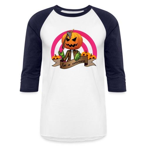 I'm A Unicorn Halloween - Baseball T-Shirt