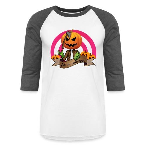 I'm A Unicorn Halloween - Unisex Baseball T-Shirt