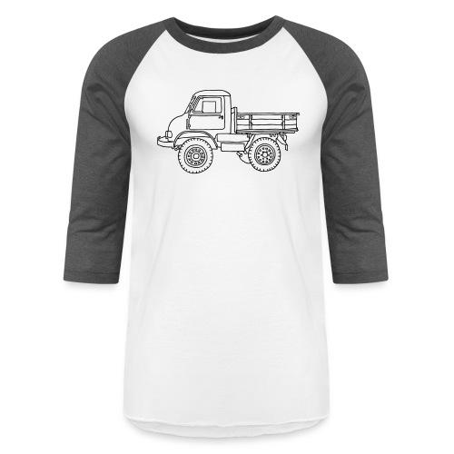 Off-road truck, transporter - Unisex Baseball T-Shirt