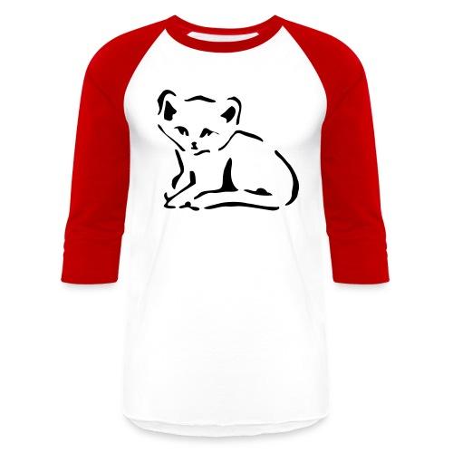 Kitty Cat - Baseball T-Shirt