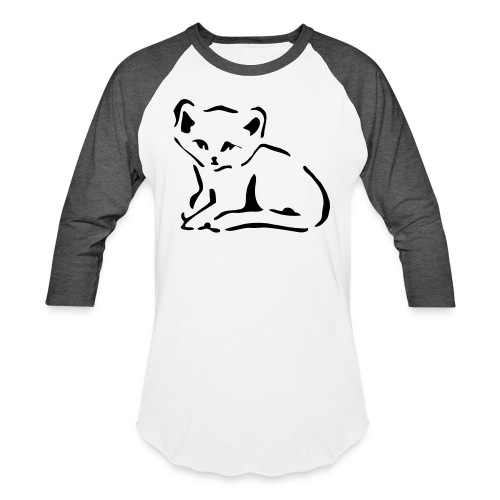 Kitty Cat - Baseball T-Shirt
