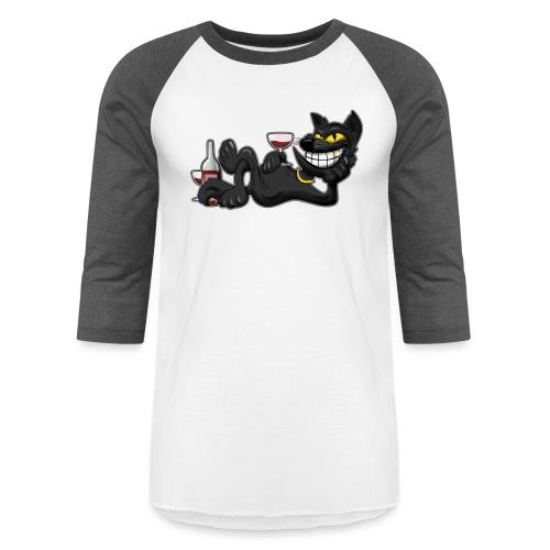 Sexy Cat - Baseball T-Shirt