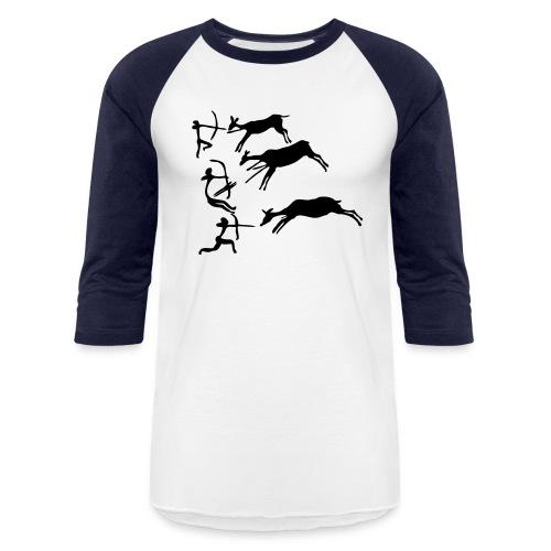 Lascaux Cave Painting - Baseball T-Shirt