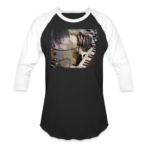Dark Piano 1 - Baseball T-Shirt