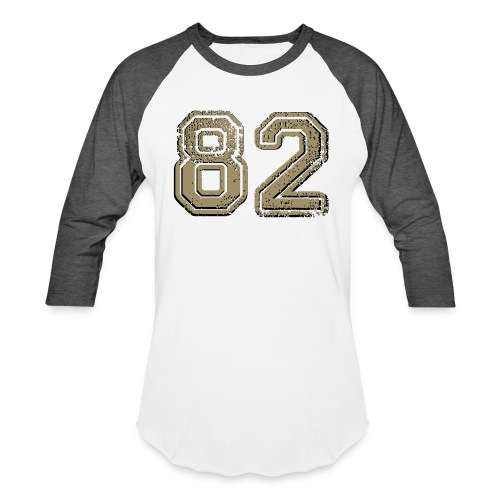 82 vintage - Unisex Baseball T-Shirt