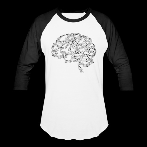 Sound of Mind | Audiophile's Brain - Baseball T-Shirt