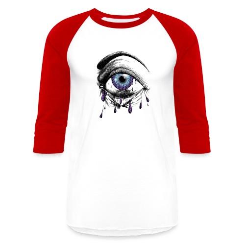 Lightning Tears - Unisex Baseball T-Shirt