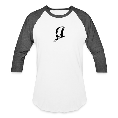 Already Logo Black - Unisex Baseball T-Shirt
