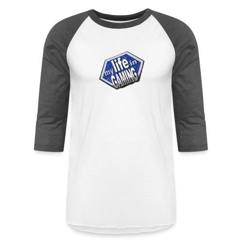 My Life In Gaming sticker - Baseball T-Shirt