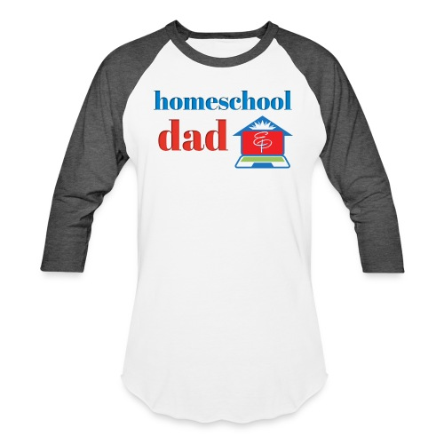 Homeschool Dad - Unisex Baseball T-Shirt