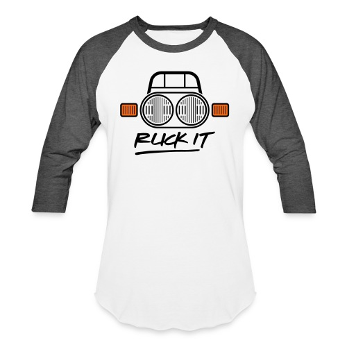 Ruck It - Unisex Baseball T-Shirt