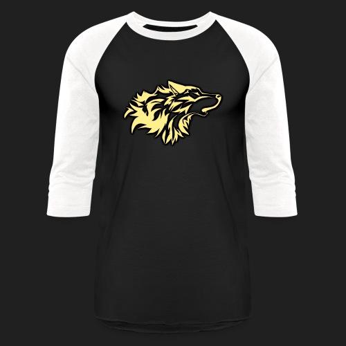 wolfepacklogobeige png - Baseball T-Shirt