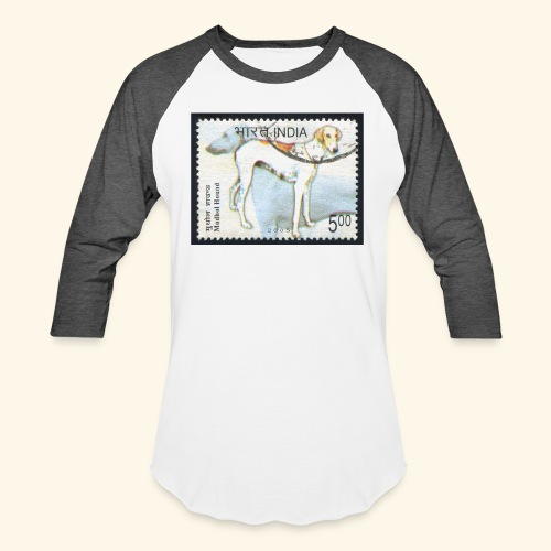 India - Mudhol Hound - Unisex Baseball T-Shirt