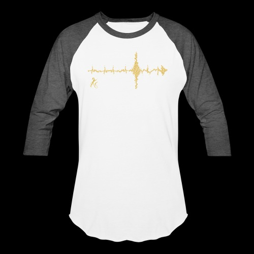 Sound Wave Arrow - Baseball T-Shirt
