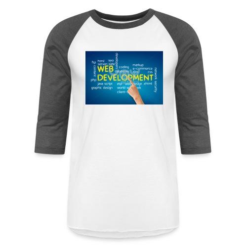 web development design - Baseball T-Shirt