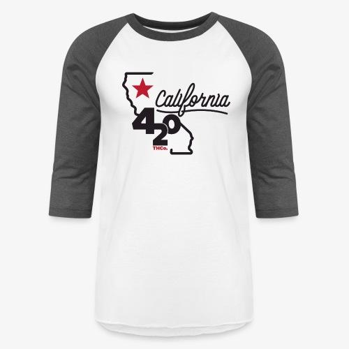 California 420 - Baseball T-Shirt