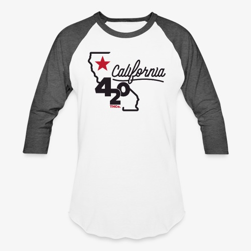 California 420 - Unisex Baseball T-Shirt