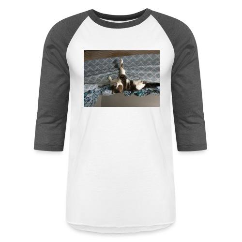 Lol da upside down fat cat - Baseball T-Shirt