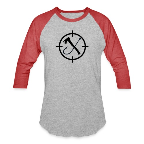 Hooks&Triggers Logo - Baseball T-Shirt