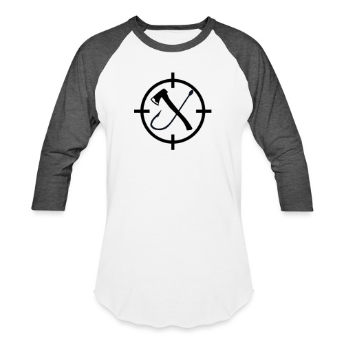 Hooks&Triggers Logo - Unisex Baseball T-Shirt