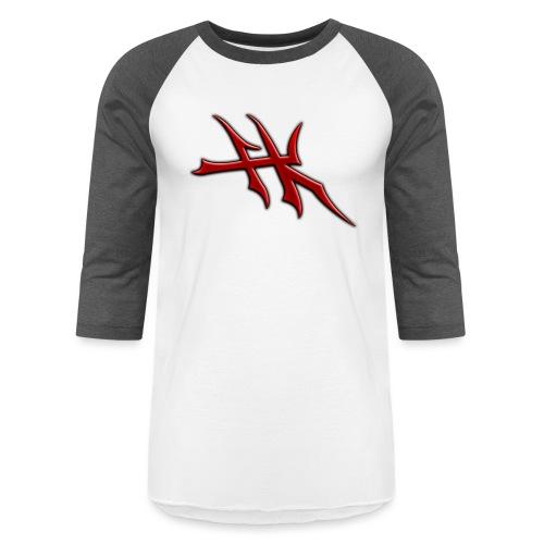 Blayde Symbol (Red) - Unisex Baseball T-Shirt