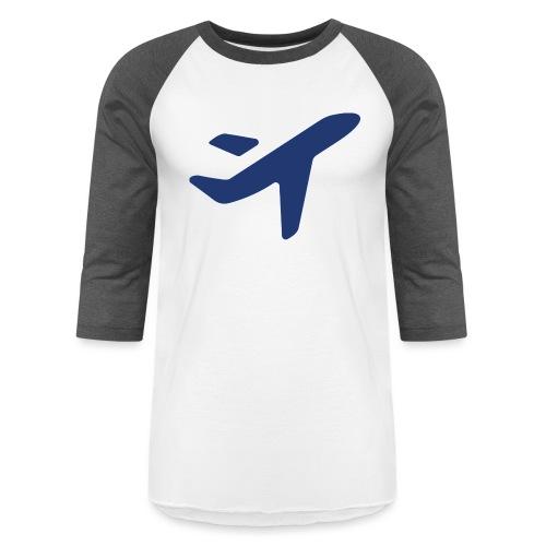 Plane Solo Jess Travel - Unisex Baseball T-Shirt
