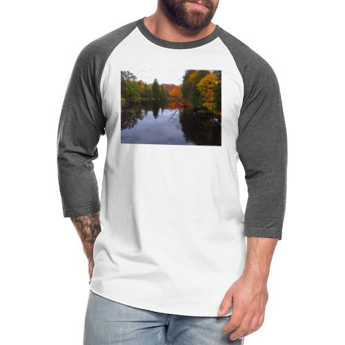 Nature Coffee Cup - Unisex Baseball T-Shirt