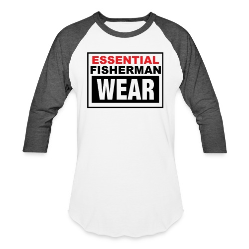 Essential Fisherman WEAR - Unisex Baseball T-Shirt