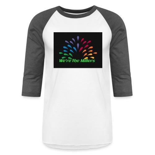 We're the Millers logo 1 - Unisex Baseball T-Shirt