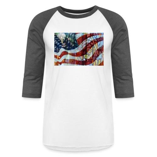 Camp Logan - Unisex Baseball T-Shirt