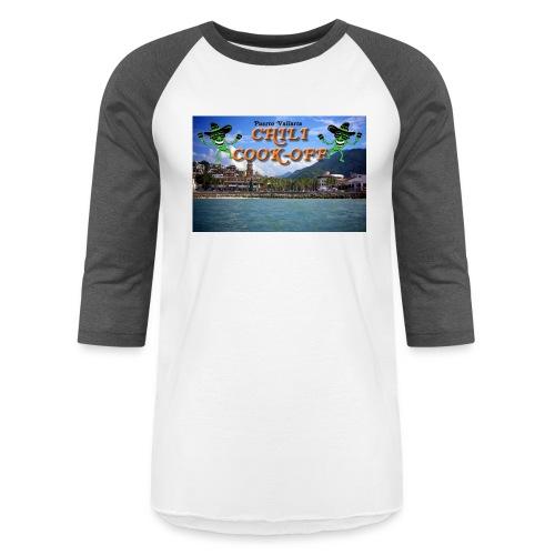 Puerto Vallarta From the Sea - Unisex Baseball T-Shirt