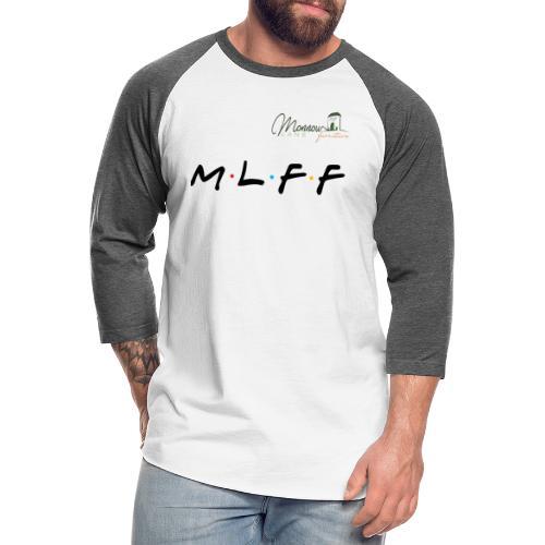 MLFF with logo - Unisex Baseball T-Shirt