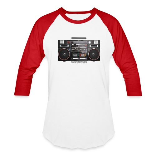 Helix HX 4700 Boombox Magazine T-Shirt - Unisex Baseball T-Shirt