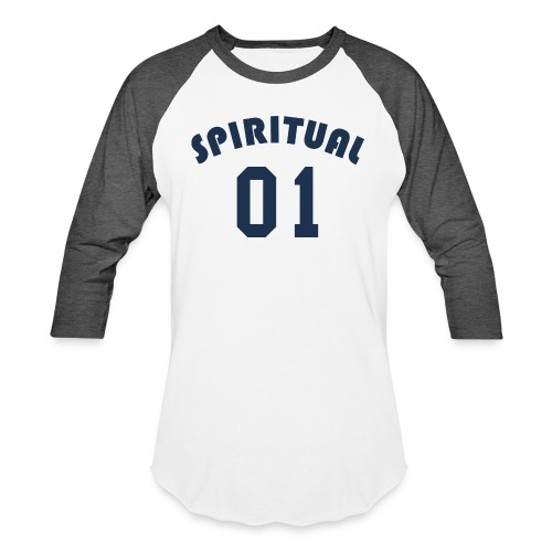 Spiritual One - Unisex Baseball T-Shirt