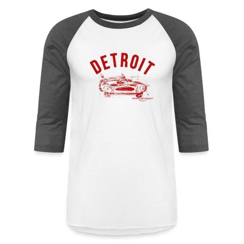 Detroit Art Project - Unisex Baseball T-Shirt