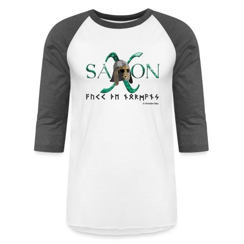 Saxon Pride - Unisex Baseball T-Shirt