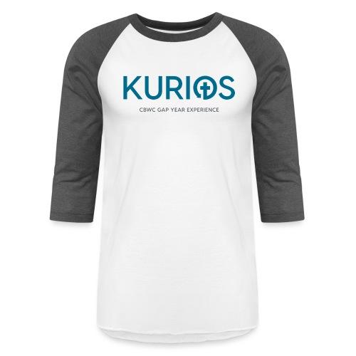 Kurios Classic Logo - Unisex Baseball T-Shirt