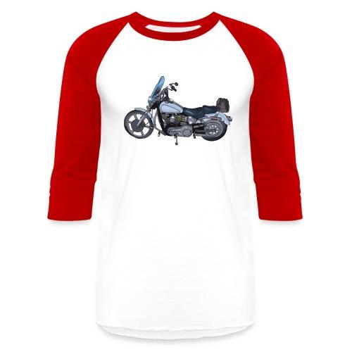 Motorcycle L - Baseball T-Shirt