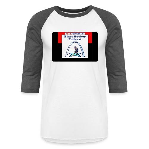 Blues Hockey Podcast - 16 Bit - Baseball T-Shirt