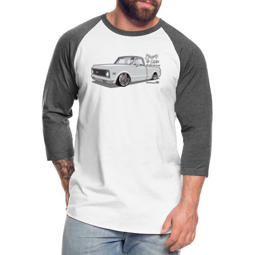 Short & Low C10 - Unisex Baseball T-Shirt