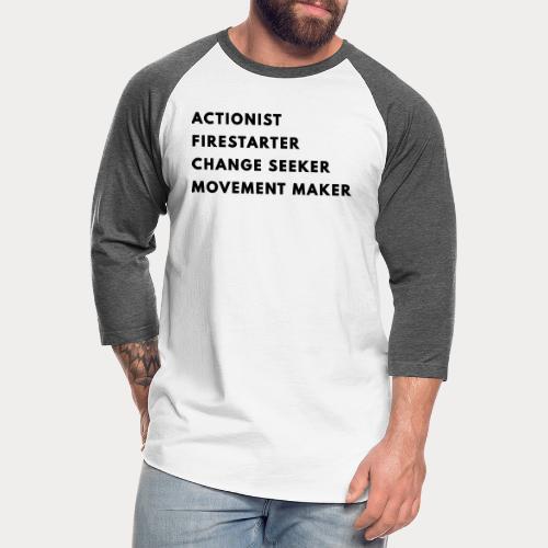 Change Seeker - Unisex Baseball T-Shirt
