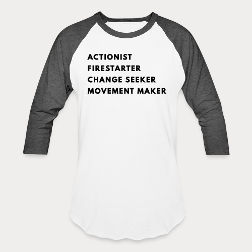Change Seeker - Unisex Baseball T-Shirt