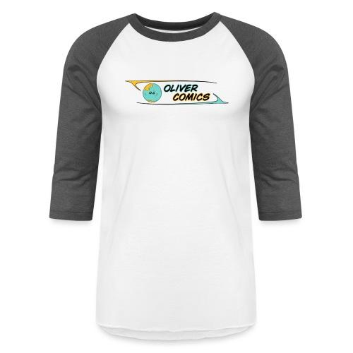 OLIVER COMICS v2 - Unisex Baseball T-Shirt