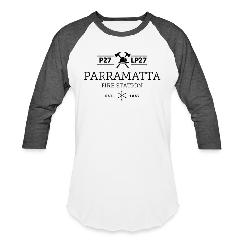 Parramatta Fire Station B - Baseball T-Shirt