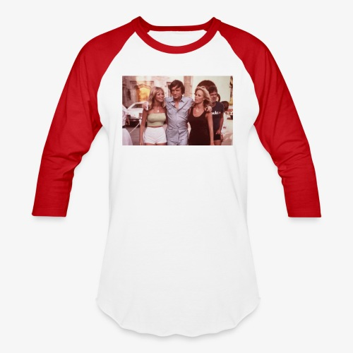 Hugh Hefner - Baseball T-Shirt