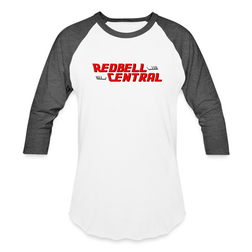 RedbellCentral Pointing to the Present - Unisex Baseball T-Shirt