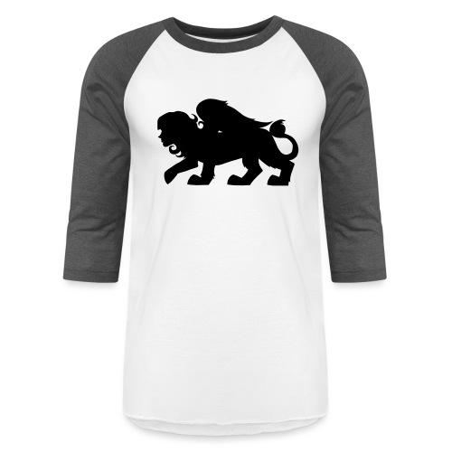 Sphynx Silhouette - Unisex Baseball T-Shirt